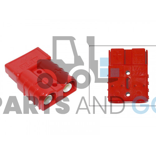 Battery connector RB 50 amp...