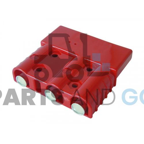 plug 3 poles red