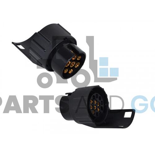 7-pole plug connector