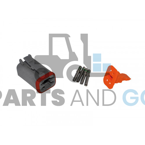 4-way female connector kit