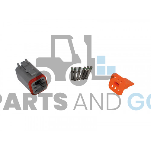 6-way female connector kit