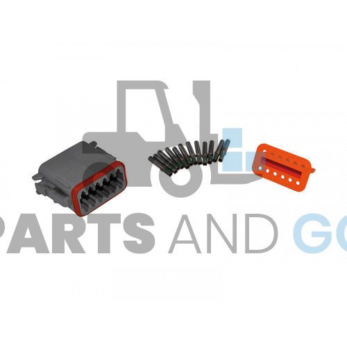 12-way female connector kit