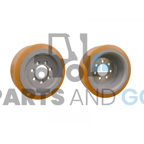 wheel 310 x 120 Vulko 7 holes