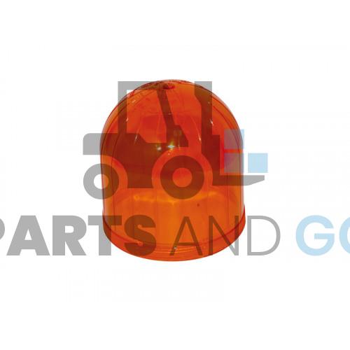 lens amber for rotating beacon
