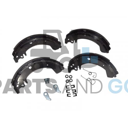 set of 4 brake shoes