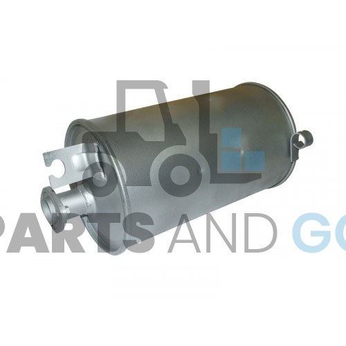 exhaust silencer TOYOTA 4Y...