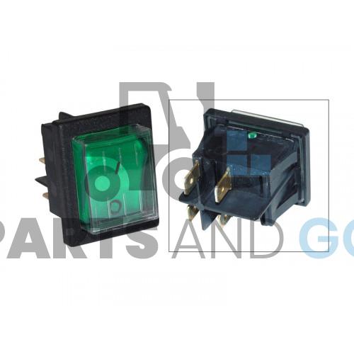 green watertight toggle switch