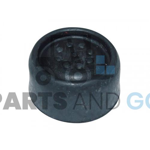 watertight cover for button