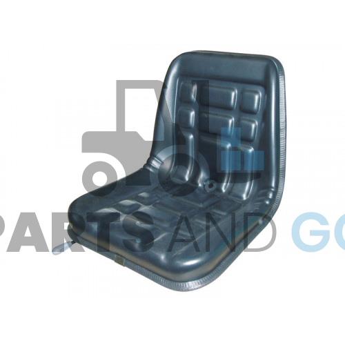 Pvc seat with slide