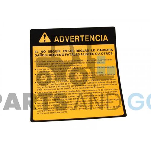 sticker in spanish