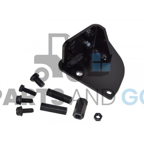 seat armrest joystick support
